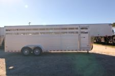 #A8898 - New 2014 Sundowner RANCHER24GN Stock Trailer