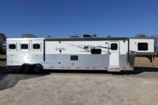#87890 - New 2014 Lakota BIGHORN 8316GLQ 3 Horse Trailer  with 16' Short Wall