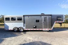 #31298 - New 2014 Merhow 8310GLQ 3 Horse Trailer  with 10' Short Wall