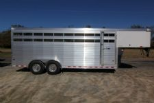 #A8913 - New 2014 Sundowner RANCHER20GN Stock Trailer