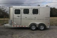 #A9015 - New 2014 Sundowner SPORTMAN3HBP 3 Horse Trailer  with 3' Short Wall