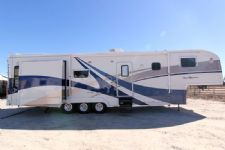 #08613 - Used 2002 Carriage 38' Royals Intern RW3842 Travel Trailer
