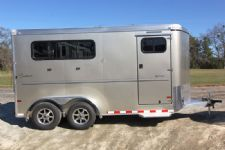 #A9217 - New 2014 Sundowner SPORTMAN3HBP 3 Horse Trailer  with 3' Short Wall