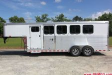 #A9275 - New 2015 Sundowner SS4HGN 4 Horse Trailer  with 2' Short Wall
