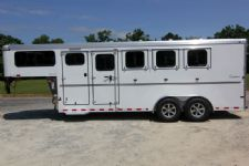 #A9337 - New 2015 Sundowner SPORTMAN4HGN 4 Horse Trailer  with 4' Short Wall