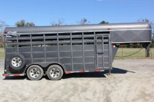 #14287 - Used 2004 Delta  Stock Trailer