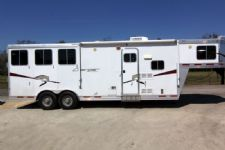 #87017 - Used 2009 Lakota 8309GLQ 3 Horse Trailer  with 9' Short Wall