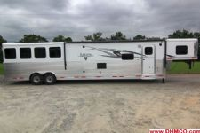 #00229 - New 2015 Lakota BIGHORN 8416GLQ 4 Horse Trailer  with 16' Short Wall