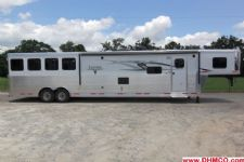 #00283 - New 2015 Lakota BIGHORN 8416GLQ 4 Horse Trailer  with 16' Short Wall