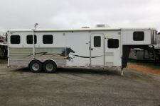 #00483 - Used 2006 American Spirit 8380LQ 3 Horse Trailer  with 8' Short Wall