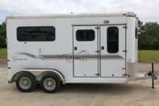 #B0281 - Used 2000 Sundowner 2HST 2 Horse Trailer  with 4' Short Wall