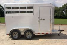 #38396 - New 2014 Aluminum Trailer Group 2HSL-BP-STK 2 Horse Trailer  with 2' Short Wall