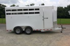 #38415 - New 2015 Aluminum Trailer Group 3HSL-BP-SC 3 Horse Trailer  with 2' Short Wall