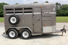 #46640 - Used 2007 Corn Pro 2HSS 2 Horse Trailer
