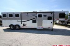 #00521 - New 2015 Lakota Charger 8311GLQ 3 Horse Trailer  with 11' Short Wall