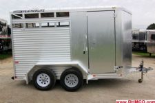 #98786 - Used 2007 Featherlite 2HSL 2 Horse Trailer  with 2' Short Wall