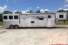 #00562 - New 2015 Lakota BIGHORN 8316GLQ 3 Horse Trailer  with 16' Short Wall