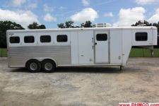 #51228 - Used 2001 Hart 406LQ 4 Horse Trailer  with 6' Short Wall
