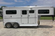 #B0079 - New 2015 Sundowner CHARTER2HGNTRSE 2 Horse Trailer  with 4' Short Wall