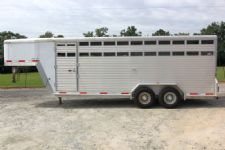 #37317 - Used 2006 Exiss STK 20 Stock Trailer