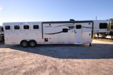 #00685 - New 2015 Lakota Charger 8413GLQ 4 Horse Trailer  with 13' Short Wall