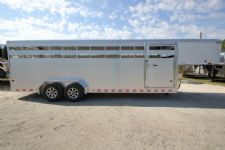 #B0181 - New 2015 Sundowner RANCHER24GN Stock Trailer