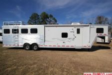 #31396 - Used 2006 Merhow 8314 LQ 4 Horse Trailer  with 14' Short Wall