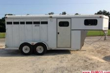 #60016 - Used 1999 Circle C 3HSL 3 Horse Trailer  with 2' Short Wall
