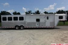 #31440 - Used 2006 Merhow 8412GLQ 4 Horse Trailer  with 12' Short Wall