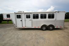 #46430 - Used 2001 Featherlite 4HSL 4 Horse Trailer  with 4' Short Wall