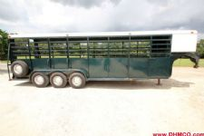 #84089 - Used 1989 Daughtry 24' Stock Trailer