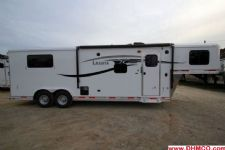 #00838 - New 2015 Lakota 8309LQ 3 Horse Trailer  with 9' Short Wall