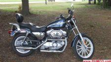 #16268 - Used 2003 Harley Davidson 883 Sportster Motorcycle