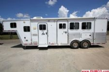 #68794 - Used 2004 Featherlite 8310LQ 3 Horse Trailer  with 10' Short Wall