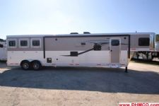 #00892 - New 2015 Lakota Charger 8317GLQ 3 Horse Trailer  with 17' Short Wall
