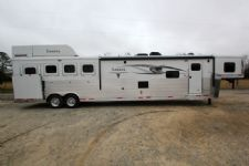 #00912 - New 2015 Lakota 8416GLQ BIGHORN UG 4 Horse Trailer  with 16' Short Wall