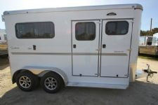 #B0630 - New 2015 Sundowner CHARTER2NBPTRSE 2 Horse Trailer  with 5' Short Wall