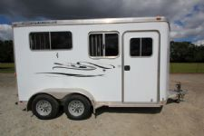 #95321 - Used 2006 Featherlite 2HSTBP 2 Horse Trailer  with 5' Short Wall