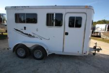#73484 - Used 2005 Featherlite 2HSS 2 Horse Trailer  with 4' Short Wall