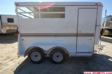 #77013 - New 2015 Bee 2HBPSL 2 Horse Trailer  with 2' Short Wall