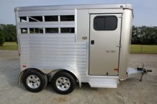 #A8812 - Used 2014 Sundowner 2HBP 2 Horse Trailer  with 3' Short Wall