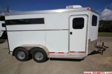 #24137 - Used 2012 Adam 2HSL 2 Horse Trailer  with 2' Short Wall