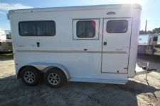 #B0822 - New 2015 Sundowner PERFORMER2HBP 2 Horse Trailer  with 5' Short Wall