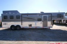 #04830 - New 2015 Bison Ranger 8310GLQ 3 Horse Trailer  with 10' Short Wall