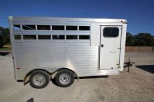 #A6245 - Used 2013 Sundowner SS3H 3 Horse Trailer  with 2' Short Wall