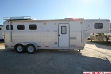 #38011 - Used 2006 Exiss ES307ELQ 3 Horse Trailer  with 7' Short Wall