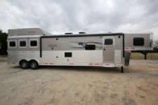 #01045 - New 2015 Lakota 8316GLQ BIGHORN UG 3 Horse Trailer  with 16' Short Wall