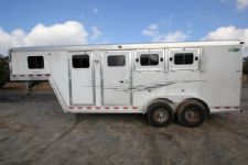 #97175 - Used 2005 Dreamcoach 3HSL 3 Horse Trailer  with 4' Short Wall