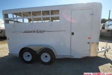 #36249 - Used 2012 Trails West 3HSLBP 3 Horse Trailer  with 2' Short Wall
