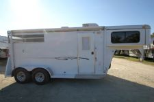 #77706 - Used 2008 Bee 204LQ 2 Horse Trailer  with 4' Short Wall